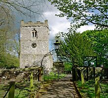 St Leonard's Church, Thorpe, Derbyshire by Rod Johnson