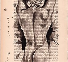 Nude HQ-Foto of my original ink drawing - Art. Palluch by #Palluch #Art