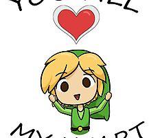 Legend of Zelda- You Fill My Heart! by SquishyBoo