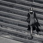 Girl on the steps by AJM Photography
