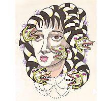 Lydia Deetz (Beetlejuice) as Medusa  Photographic Print