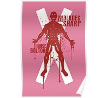 House Bolton Game of Thrones Shirt Poster