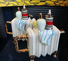 Bathroom Accessories Teapot by Marilyn Harris