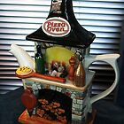 Pizza Oven Teapot by Marilyn Harris