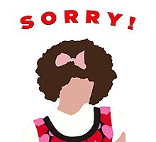 Sorry! Gilly Photographic Print