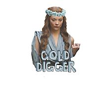 Gold Digger Tyrell Photographic Print