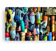 Buoys and Props Canvas Print