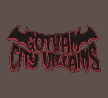 Gotham City Villains (red) by Blinky2lame