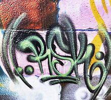 Graffiti Tags - Street Art Wollongong by webgrrl