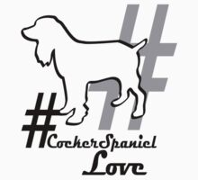 #Cocker Spaniel Love Dog Owners Gift by 8milesfromhome