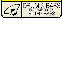 Drum & Bass Warning by TigerStriped