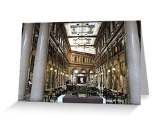 Roman Galleria Greeting Card