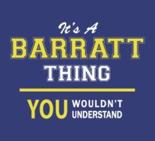 It's A BARRATT thing, you wouldn't understand !! by satro