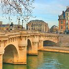 Pont Neuf .. Oldest Bridge Across The Seine by Michael Matthews