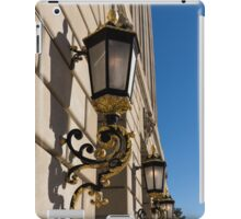 Gilded Lanterns - Washington, DC Facades - Federal Triangle Neighborhood iPad Case/Skin