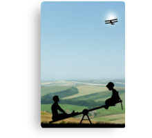 Childhood Dreams, The Seesaw Canvas Print