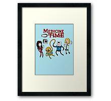 Medicine Time! Framed Print