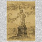 Vintage Statue Of Liberty #2 by Nhan Ngo