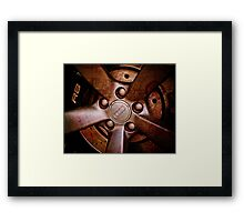 AUDI rim, or there is more to it? Framed Print