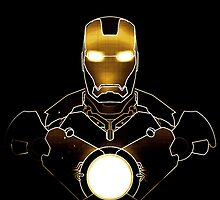 Tony Stark Ironman - Golden Style by Mellark90