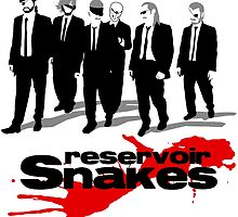 Reservoir Snakes by gamergeekshirts
