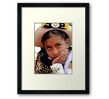Cuenca Kids 460 Framed Print