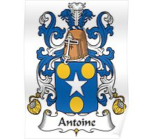 Antoine Coat of Arms (French) Poster