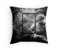The 1975 Smoke Print Throw Pillow