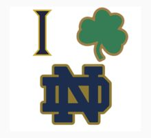 I love Notre Dame  Kids Clothes