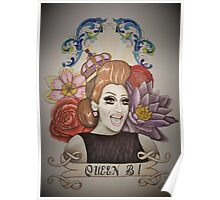 Drawing of Bianca Del Rio Poster
