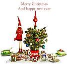 Merry Christmas by Aikaterini  Koutsi Marouda