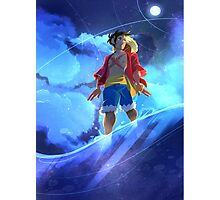 (One Piece) Starry Sky Photographic Print