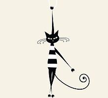 Naughty Kitty One by martinestella