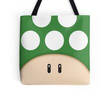 Green 1UP Mushroom Tote Bag