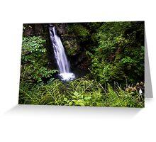 Amazing Waterfall - Travel Photography Greeting Card
