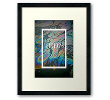 Oil Print Framed Print