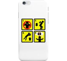 Simple Steps for Jumping Over a Small Gorge iPhone Case/Skin