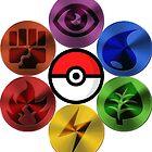 Pokemon Sacred Geometry Metallic by GarretBobbyFerg