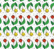 Happy Tulips by trapezoid