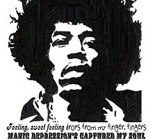 Jimi Hendrix - Manic Depression by TheRover