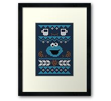 C is for Cookie! Framed Print