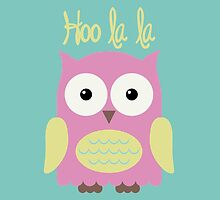 Pink Owl by DjenDesign