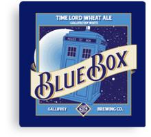 Blue Box Brewing Canvas Print
