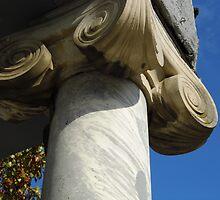 Marble Columns by WildestArt