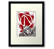 Psyched for the Hunt (Borderlands) Framed Print