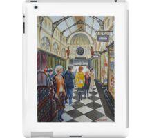 Shopping in Royal Arcade, Melbourne iPad Case/Skin