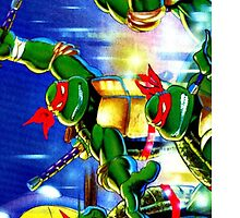 Mutant Turtles Case. by TotalPotencia