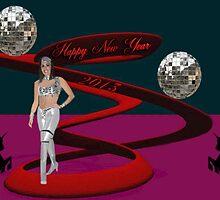 "☆¸.•°*""HAPPY NEW YEAR WISHING U LUCK IN THE NEW YEAR ☆¸.•°*""  by ✿✿ Bonita ✿✿ ђєℓℓσ"