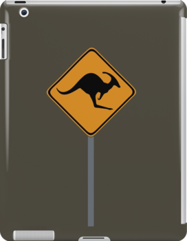 Kangaroo Dinosaur sign by jezkemp