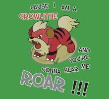 I am a growlithe! by shinypikachu